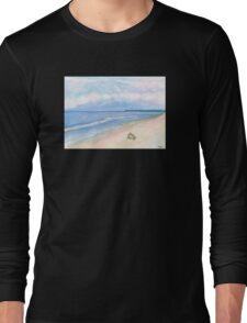 Sunday Morning on Flagler Beach Long Sleeve T-Shirt