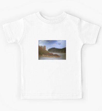Beautiful Landscape Tranquil Countryside Kids Tee