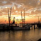Dockside by Mary Campbell