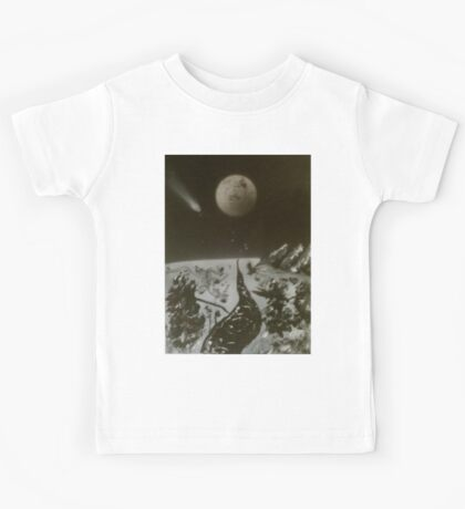 Abstract Winter Landscape Kids Tee