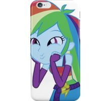 MLP Rainbow Dash Equestria Girl iphone 6 plus phone case iPhone Case/Skin