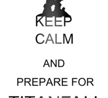 Keep calm and prepare for Titanfall Sticker