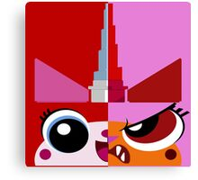 Dual Unikitty Canvas Print