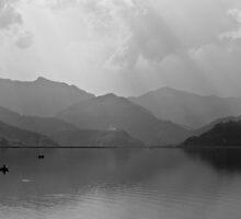 Phewa Lake by Olivier Lance