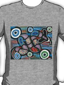 """Rainbow Serpent Travelling"" T-Shirt"