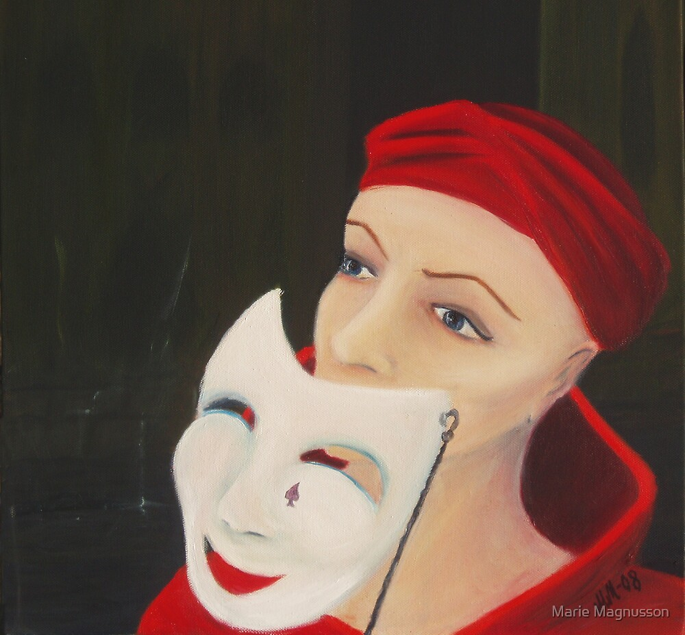 Behind the mask by Marie Magnusson
