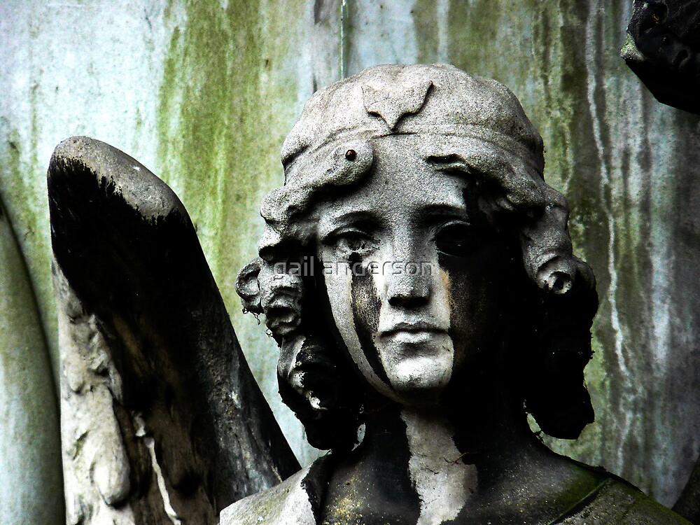 Brompton Cemetery by gail anderson