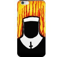 Faceless Nun iPhone Case/Skin