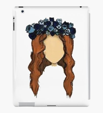 LANA DEL REY DRAWING iPad Case/Skin