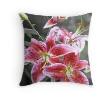 star lily Throw Pillow