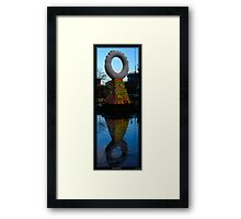 Eye in the Sky Framed Print