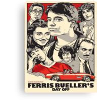 Ferris Bueller's Day Off Canvas Print