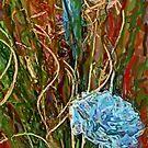 Swirls. Spike & Flowers by Lisa Taylor