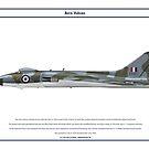 Vulcan B1A 50 Sqn by Claveworks