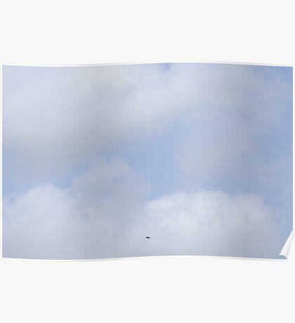Corpus Christi blue skies  Poster