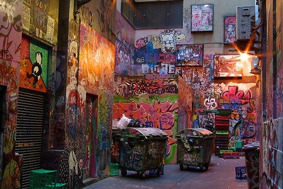 Centre Place Court by Matt Bishop
