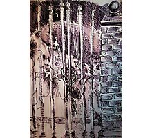 Church Gates Photographic Print