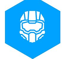 Halo Helmet  by DerfNSmores