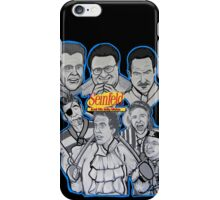 Seinfeld and his jolly mates iPhone Case/Skin
