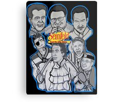Seinfeld and his jolly mates Metal Print