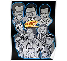 Seinfeld and his jolly mates Poster