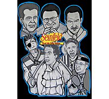 Seinfeld and his jolly mates Photographic Print