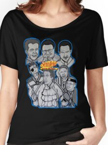Seinfeld and his jolly mates Women's Relaxed Fit T-Shirt