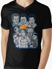 Seinfeld and his jolly mates Mens V-Neck T-Shirt