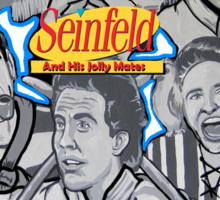 Seinfeld and his jolly mates Sticker