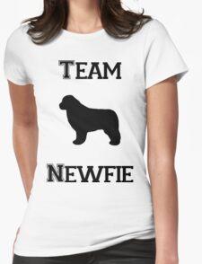 Team Newfie Womens Fitted T-Shirt