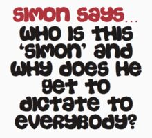 Simon says Kids Clothes