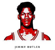 JIMMY BUTLER -NEW- STENCIL DESIGN by nbatextile