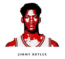 JIMMY BUTLER -NEW- STENCIL DESIGN Photographic Print