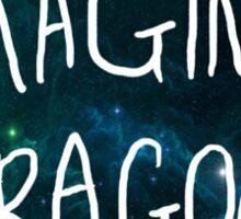 Imagine Dragons Blue Sticker