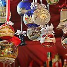 Glass Ball Christmas Ornaments by Christine Till  @    CT-Graphics
