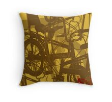 CHOPPER RETRO Throw Pillow