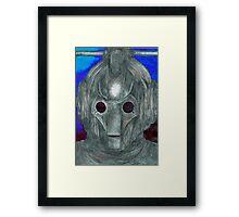 Cyberman Sketch Framed Print