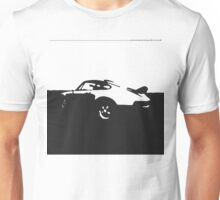 Porsche 911 Carrera - Black on White Unisex T-Shirt
