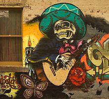 Lygon Graffiti by daveoh