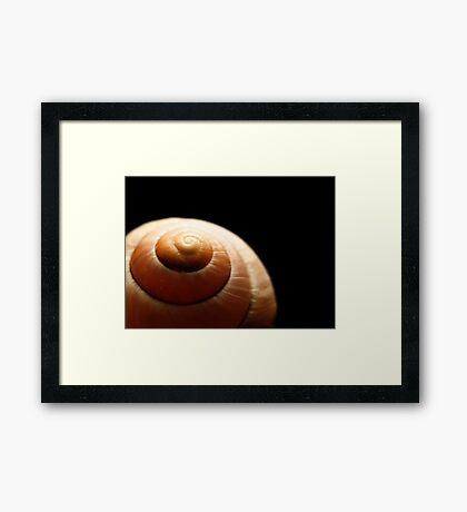 The Spiral Summit Framed Print