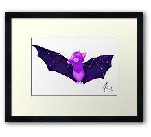 Cosmic Bat - Deep Space Framed Print