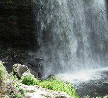 Bottom of the Falls by BethofArt