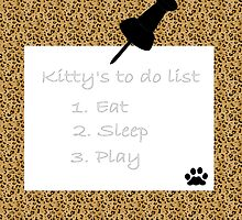 kitty's to do list by ashroc