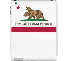 New California Republic T-Shirt iPad Case/Skin