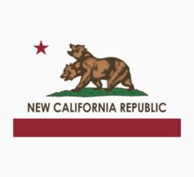 New California Republic T-Shirt by WhoMan10