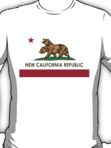 New California Republic T-Shirt T-Shirt