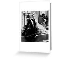 Venetian Reclining 1 Greeting Card