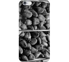 Serious strawberries iPhone Case/Skin