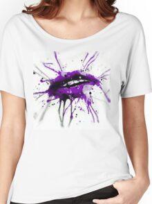 First Kiss Grape Women's Relaxed Fit T-Shirt