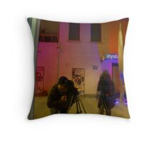 Night Bubblers Throw Pillow